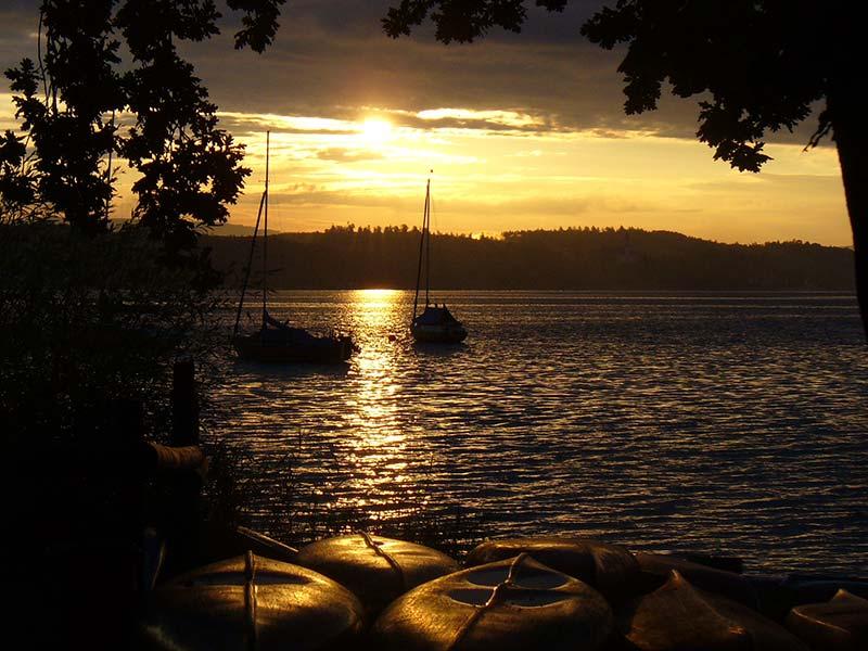 Sonnenuntergang-Freizeit-Fliesshorn-Konstanz